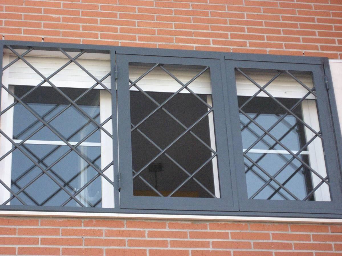 Rejas Modernas modelo Rombos | Protección ventanas | Pinterest ...