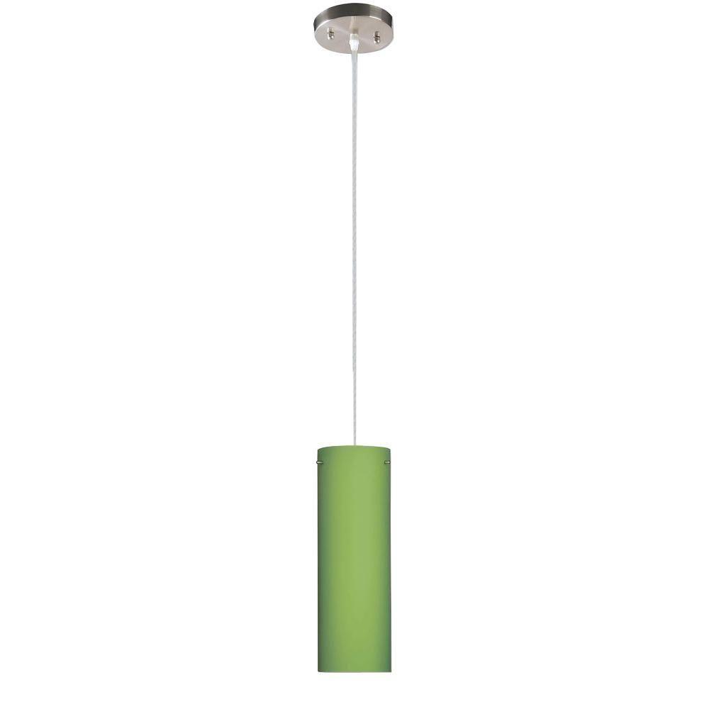 Beldi peak collection 1 light nickel pendant with green glass lights beldi peak collection 1 light nickel pendant with green glass aloadofball Choice Image
