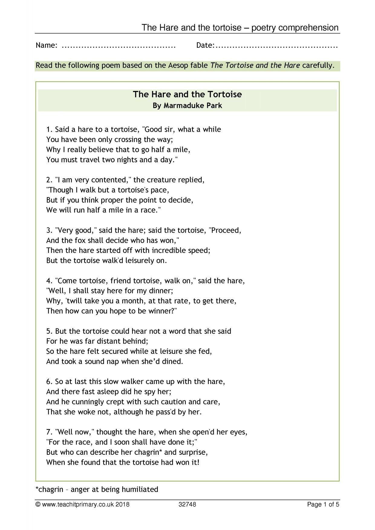 10 New Poetry Terms En