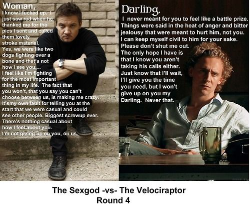 Funny Hot Guy Meme : Two hot guys after me ill take it! tom hiddleston and other hot