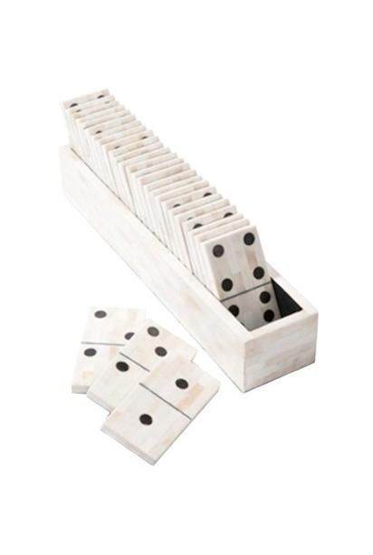 Bones Game Dominoes : bones, dominoes, Large, Natural, Domino, Dominoes, Dominos