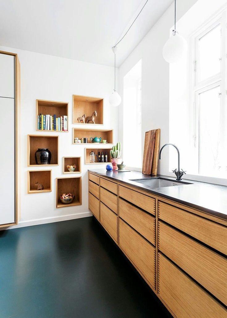 45 Cool Scandinavian Kitchen Design Ideas Home Decor Kitchen Scandinavian Kitchen Design Modern Kitchen