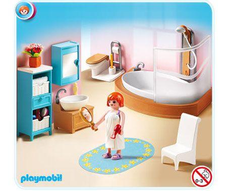 Playmobil Doll House Grand Bathroom Playmobil Muebles Ninos Y