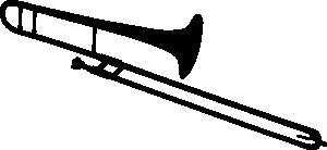 Style Guide Clker Trombone Art Trombone Silhouette Clip Art