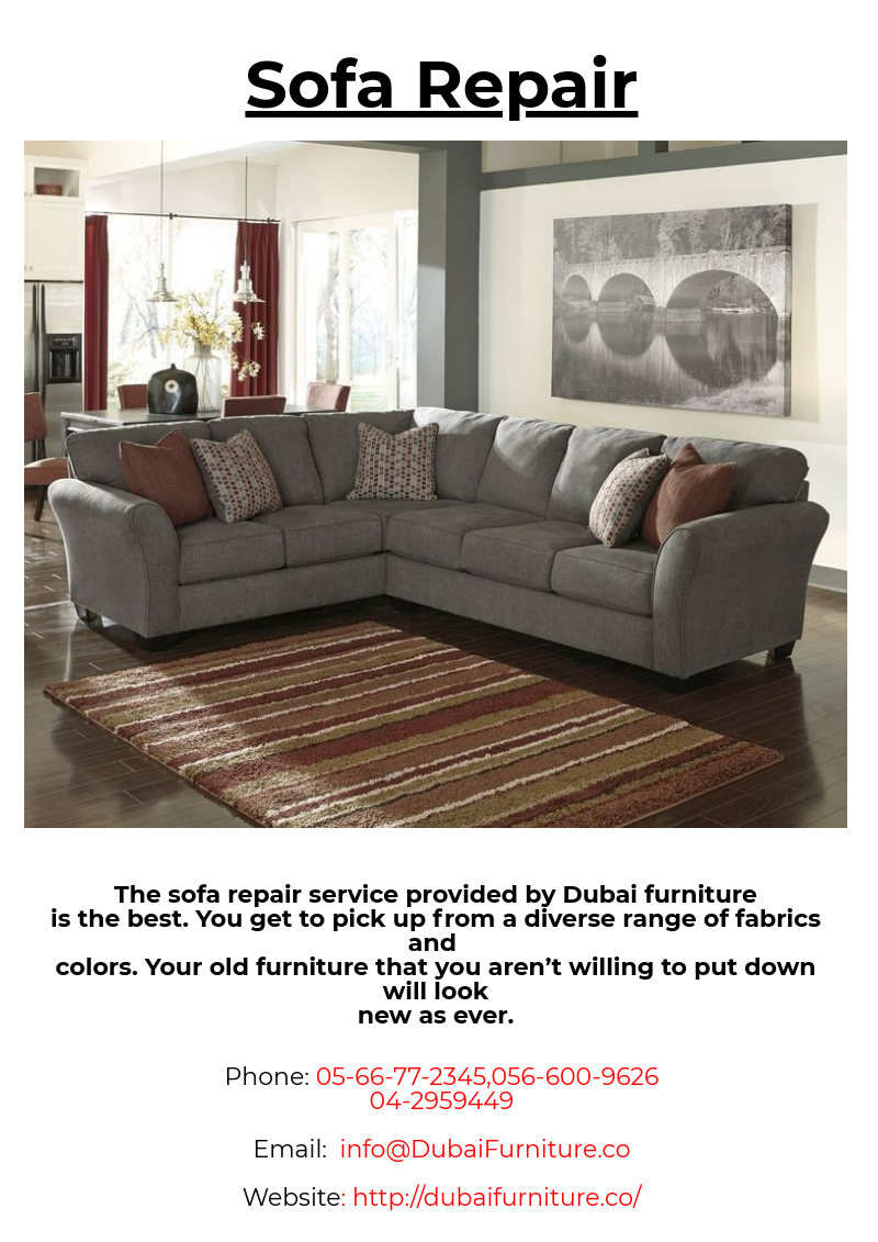 Sofa Service The Sofa Repair Service Provided By Dubai Furniture Is The Best