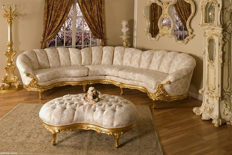 Good I Need To Stop Looking Through This Website. Lol Victorian Sofa Sectional  Gold Frame Paola