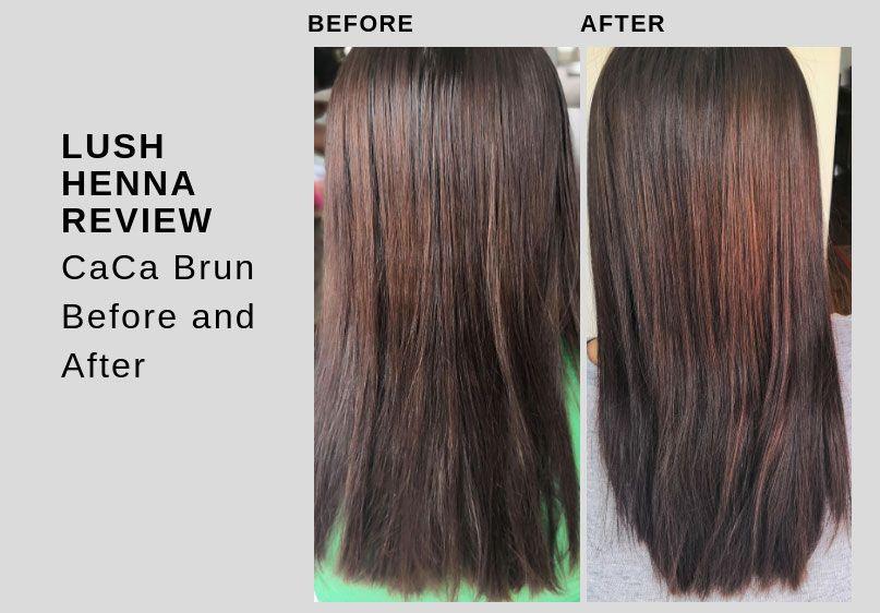 Lush henna hair dye results & my mistakes Lush henna