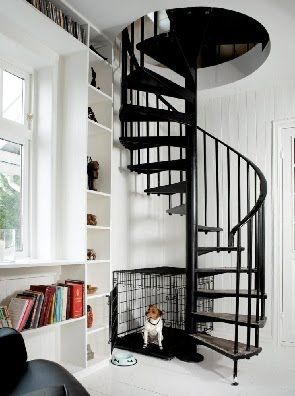 Nice Maybe This Would Be Better Than A Pull Down Staircase To The Attic Room We  Want To Make.