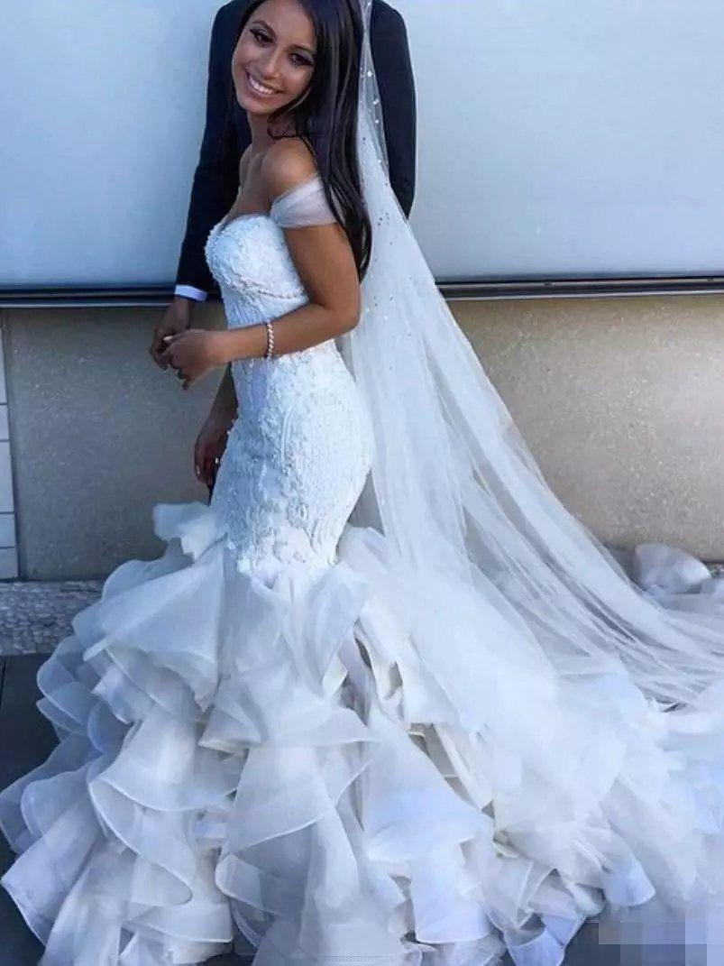 White wedding dresses long train wedding dresses long wedding