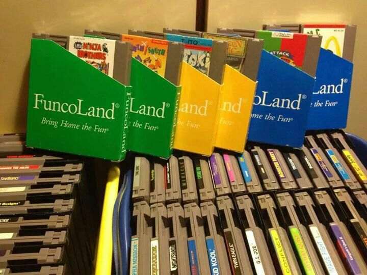 Funcoland Game Sleeves For Nes Entertainment System Nes Video Game Console