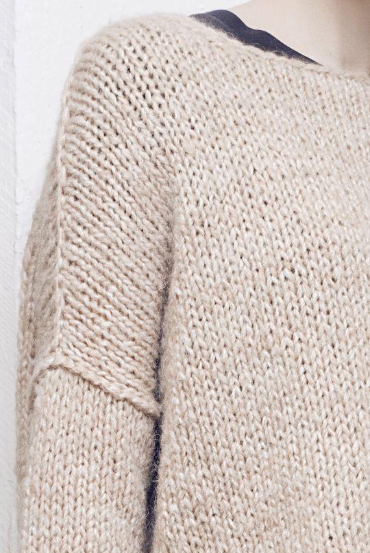 Naisen neulepusero Novita Lehto   Novita knits