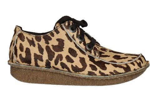 Otoñoinvierno Clarks PotroModa Zapatos Blucher Señora Leopardo jqSMUGLzVp