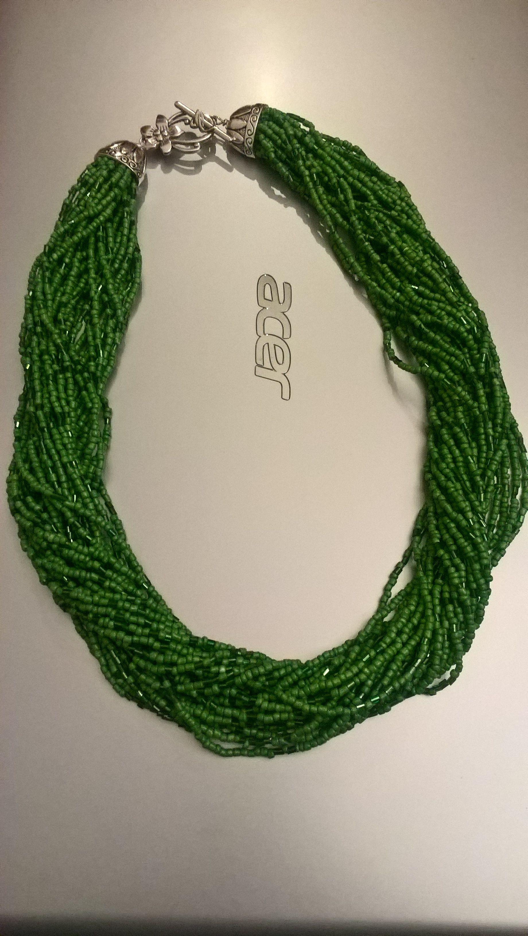 Popolare Collana verde smeraldo,Terry Tanti | Collana verde, Collane WG69