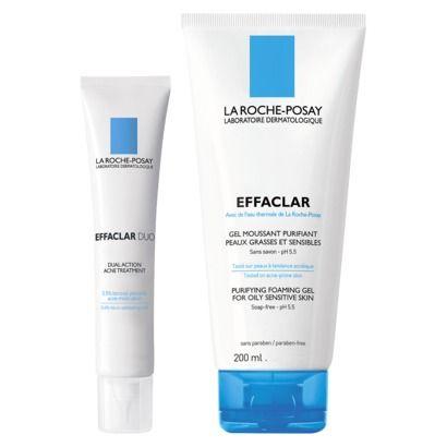 La Roche Posay Effaclar Duo Gel Kit Oily Sensitive Skin Best Natural Skin Care Gel