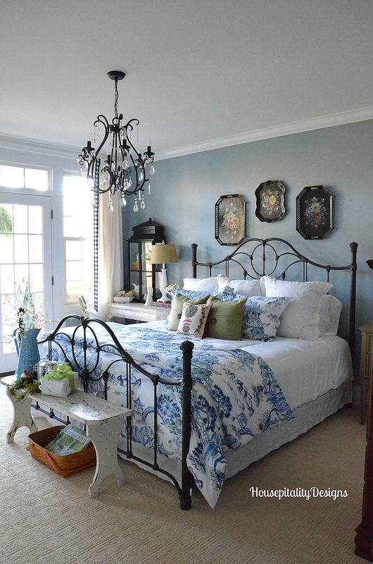 Travel Inspired Guest Room: English & French Country