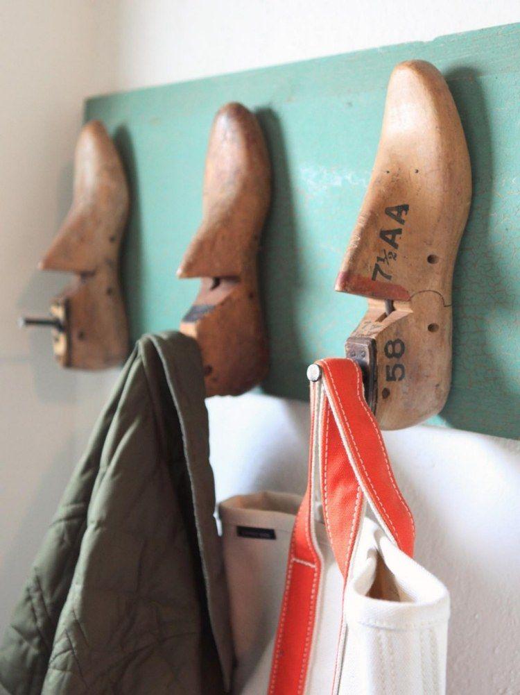 Kreative Garderobe kreative gestaltung einer garderobe haken mit schuhdehner ideen