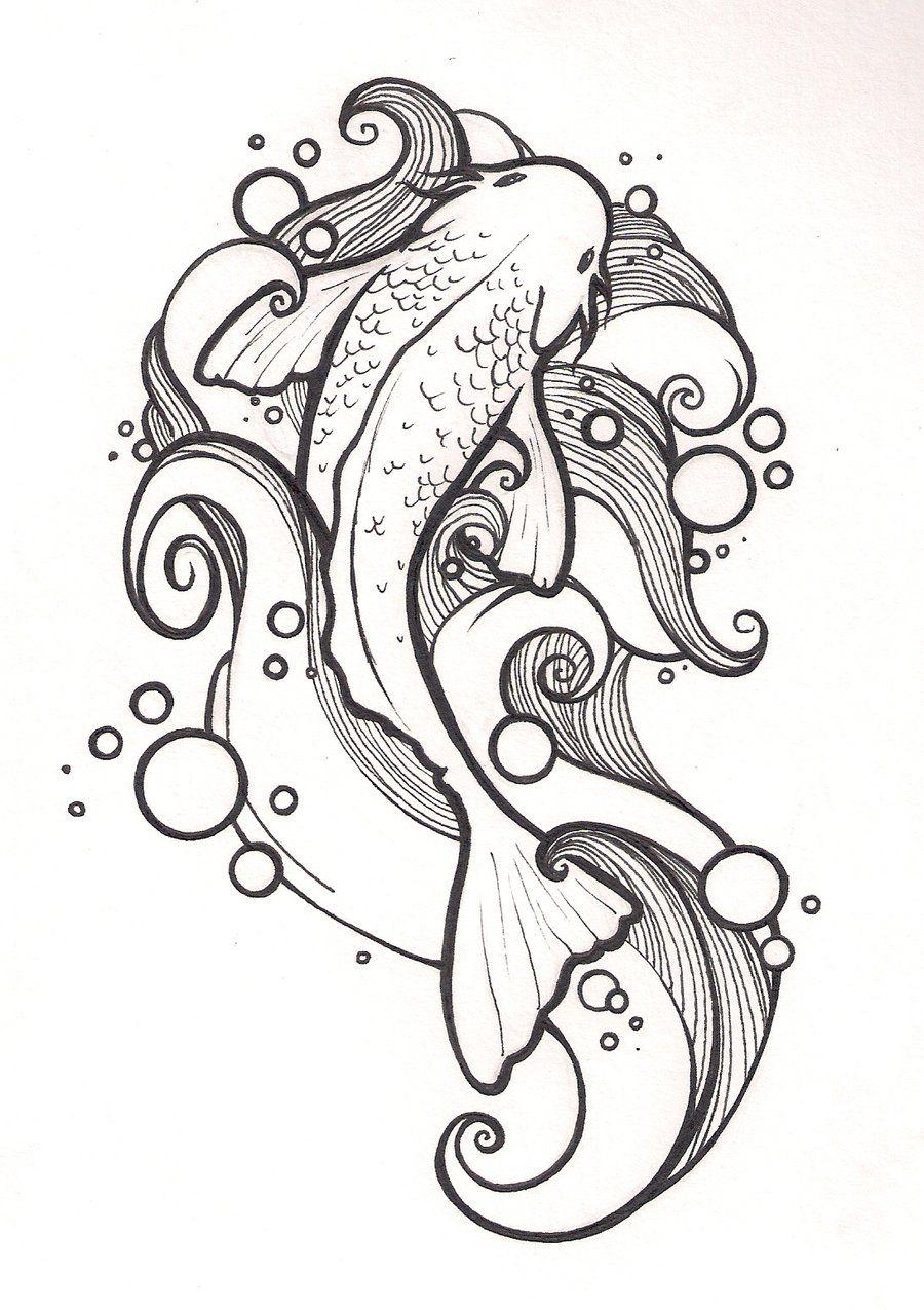 Pez Koi Art Buscar Con Google Rostros De Arte Arte De Sirenas Tatuajes Caballito De Mar