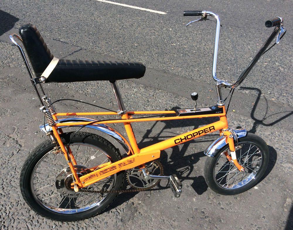 Original Unrestored Raleigh Chopper Bike Mk1 1971 Investment Rare