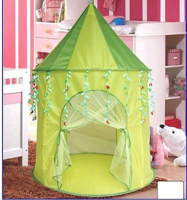 Green Leaf Princess popup Play Tent Castle Pop Up - of the week trips : play tents for girls - memphite.com