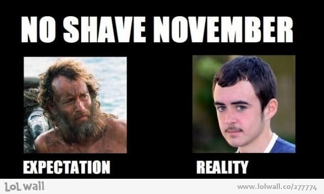 For all those participating in Movember - Meme Guy