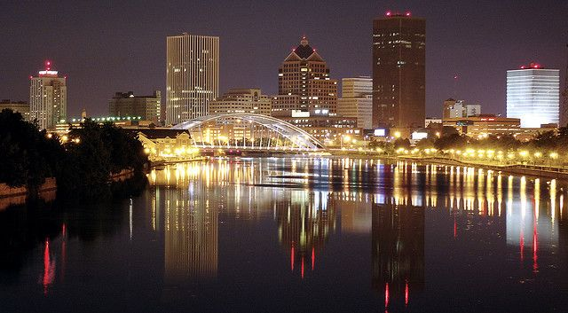 My Town, Rochester NY by RocPX, via Flickr