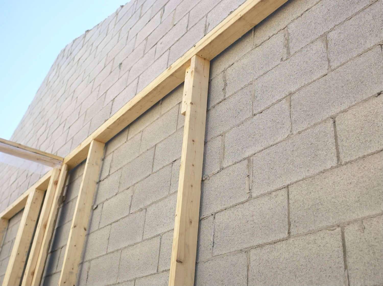 Comment Cacher Un Mur En Parpaing Comment Cacher Un Vilain Mur Exterieur Mur En Parpaing Mur Exterieur Bardage Bois Exterieur