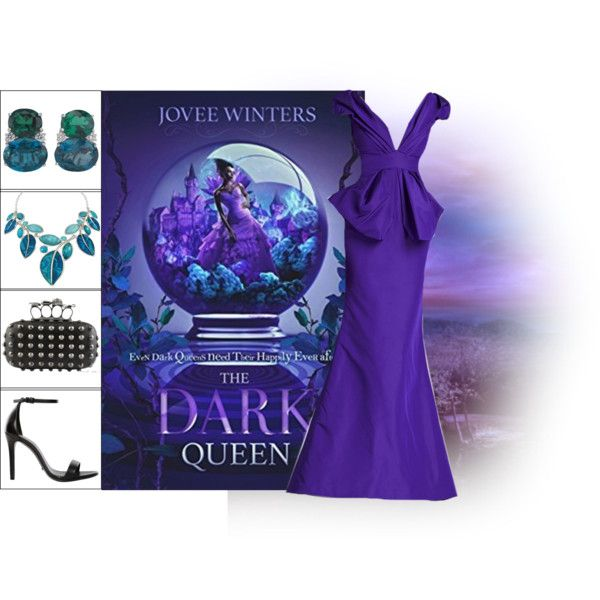 Book Look: The Dark Queen By Jovee Winters by xmikky on Polyvore featuring Schutz, Christina Addison and ALDO