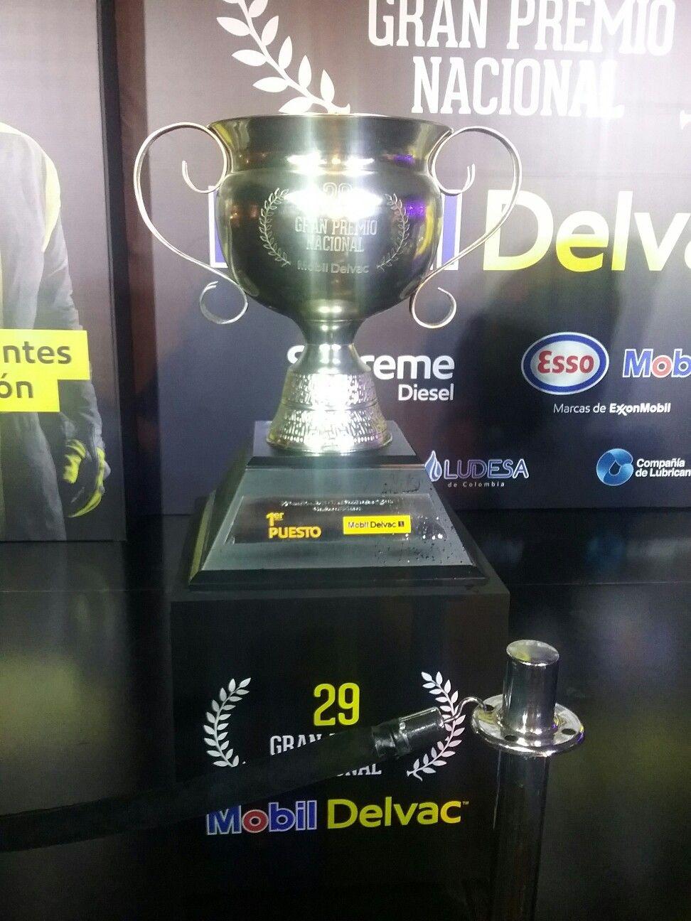 Trofeo del ganador,  29 Gran Premio Nacional Mobil Delvac.
