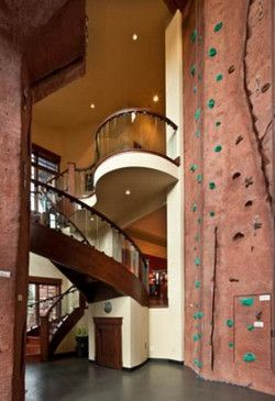 10 spectacular ski homes for sale home climbing wallrock - Home Rock Climbing Wall Design