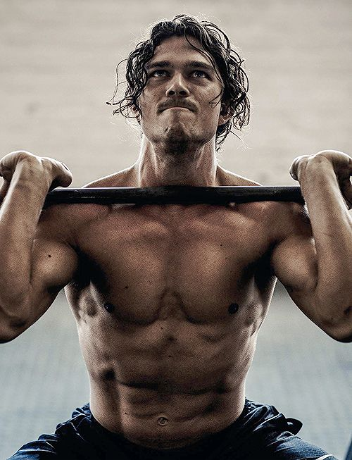 luke arnold men's health