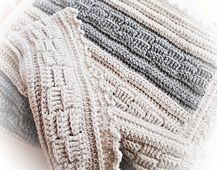 Cozy and fast blanket to make!
