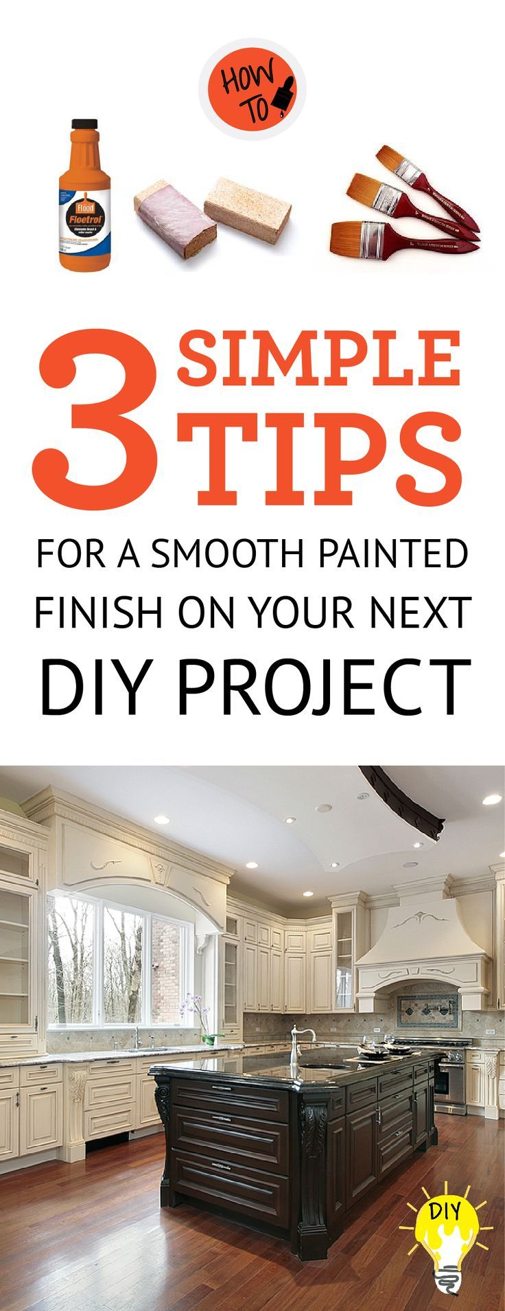 how do i get a smooth finish on painted cabinets