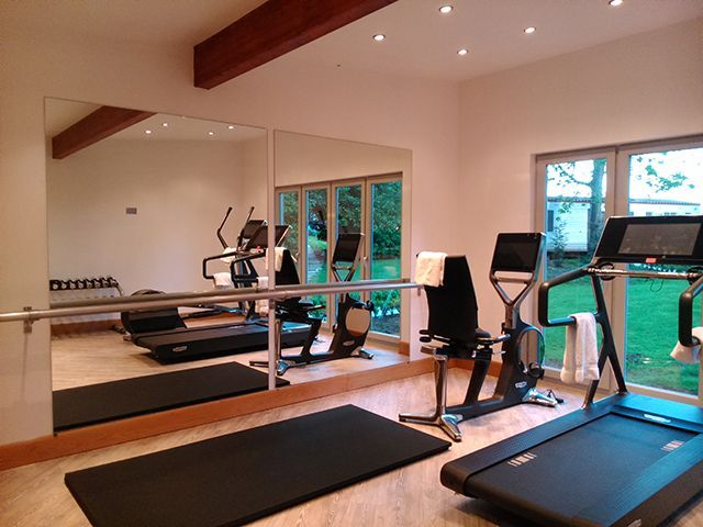 Pin by liz archibald on basement reno in 2019 gym room at home