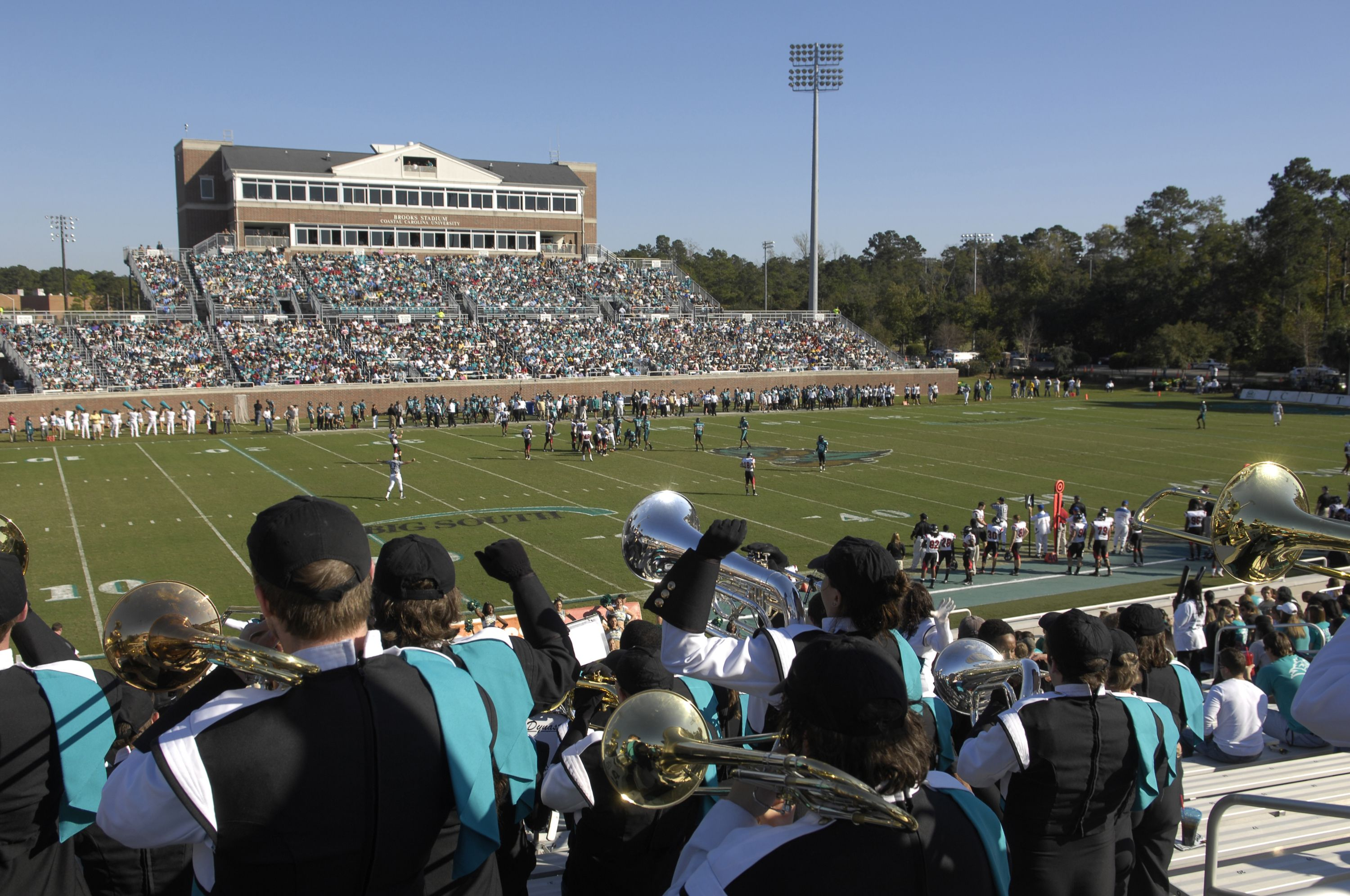 Brooks Stadium Home Of Coastal Carolina University Chanticleer S