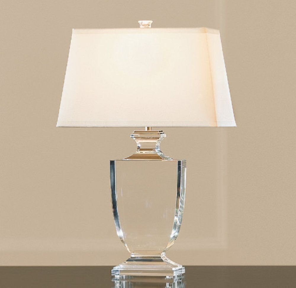 Modern table lamp with crystal base lighting ideas pinterest modern table lamp with crystal base nightstand lampbedside table lampsmodern geotapseo Images