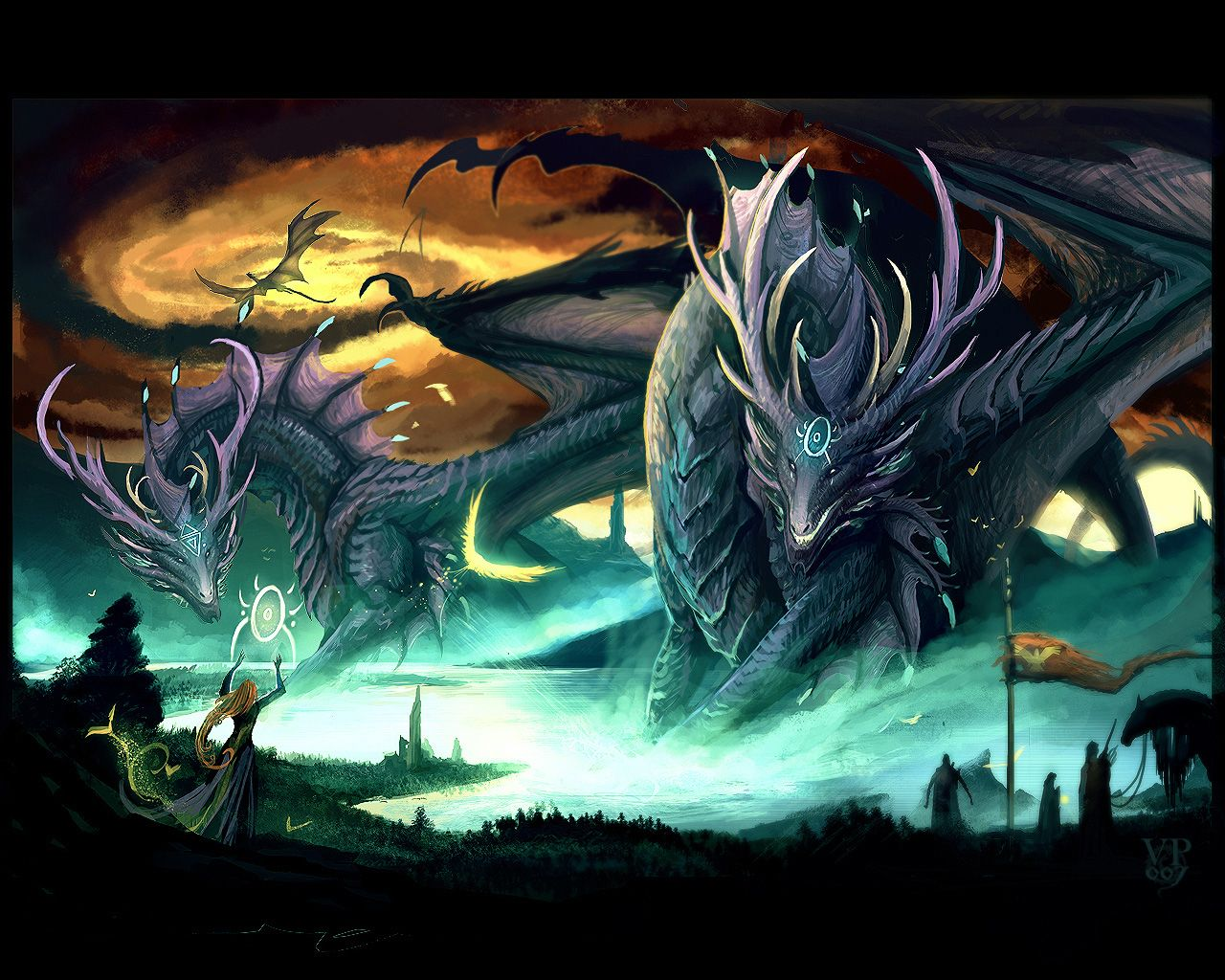 Dragon-with-Witch-dragons-24182977-1280-1024.jpg 1,280×1,024 pixels