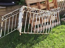 Best Vtg Antique Wrought Iron Railing Panels 5 Twisted Stair 400 x 300