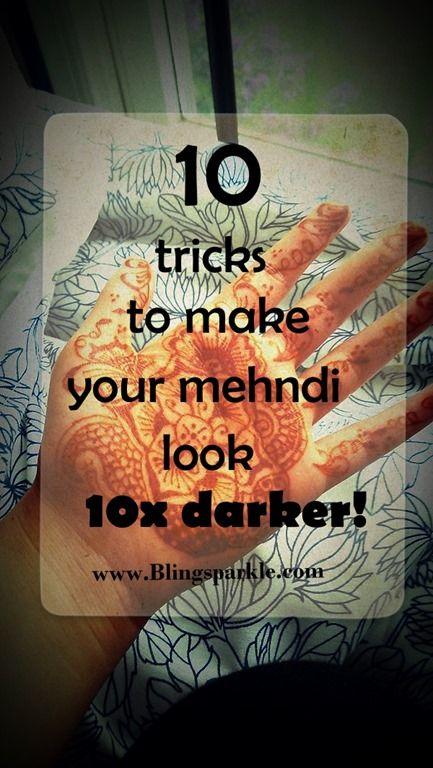 Make Your Henna Tattoo Last Longer Using Saniderm: 10 Ways To Make Your Mehndi Design Dark & Last Long