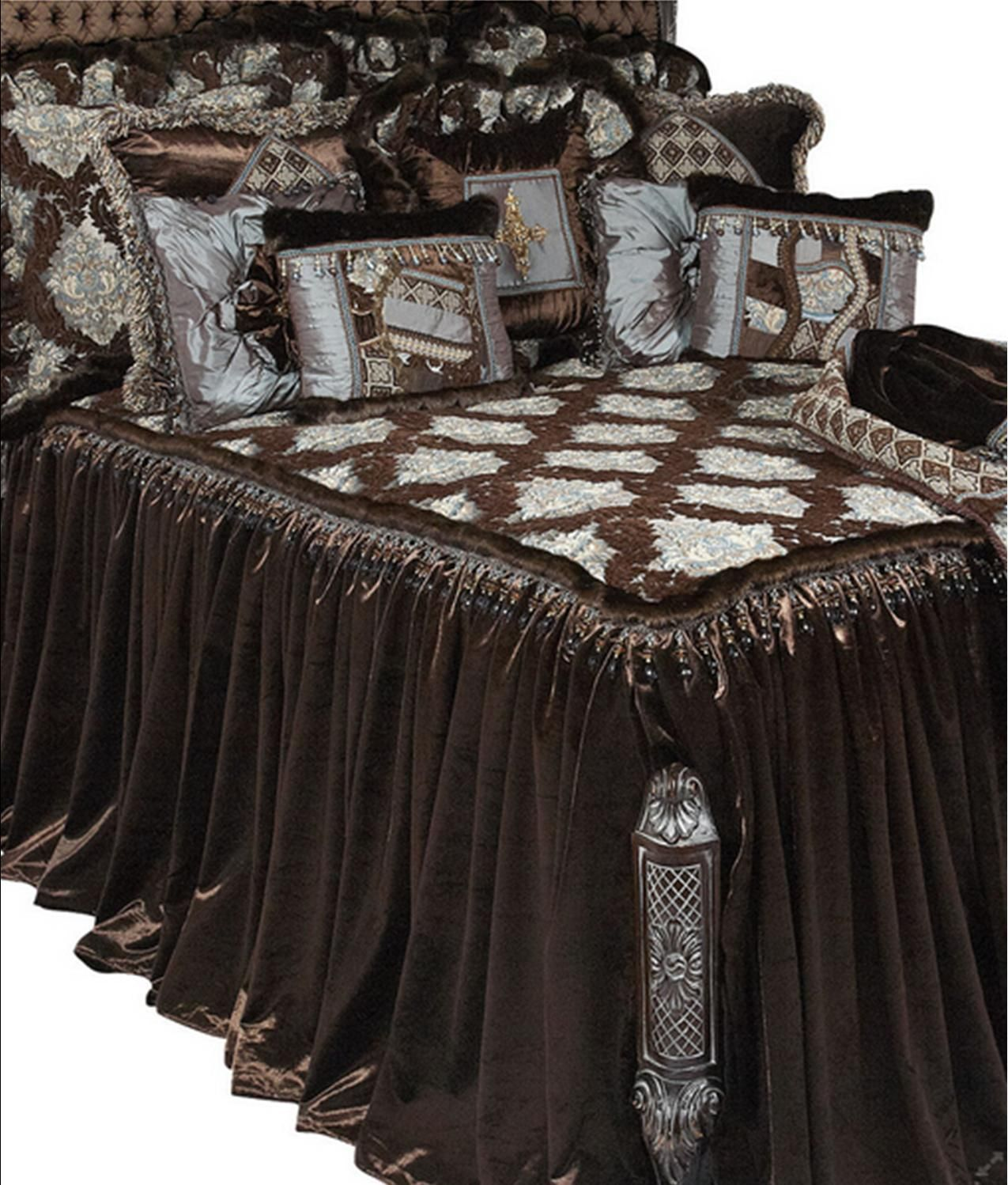 Beautiful Tuscan Style Luxury High End Bedding by Reilly-Chance
