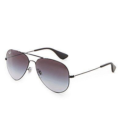 ef10634b0a14 RayBan Iconic Gradient Aviator Sunglasses