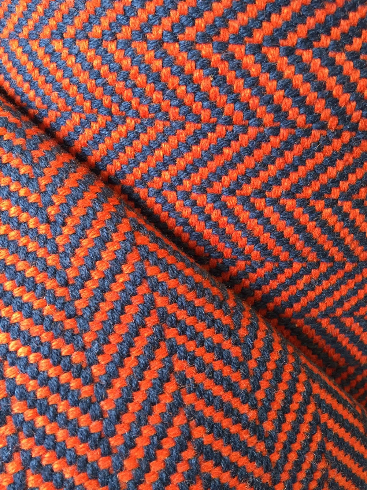 Best Electric Colours In Our Bright Orange Herringbone 400 x 300