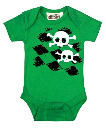 Baby /& Toddler T-Shirt Romper Black Pirates /& Anchors Unisex Baby Skull /& Crossbones Lt. Blue, 12 Months