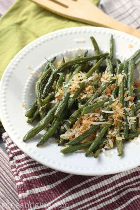Bet you never thought to add coconut to your green beans before. Get the recipe at Wine and Glue.