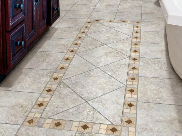HGTVRemodels Bathroom Floor Buying Guide Gives You Expert Tips And Photos  For Using Porcelain Tile In