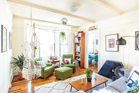 Saying Goodbye To A Craigslist Chic San Francisco Apartment Home Decor Dining Room Sets Vintage Apartment