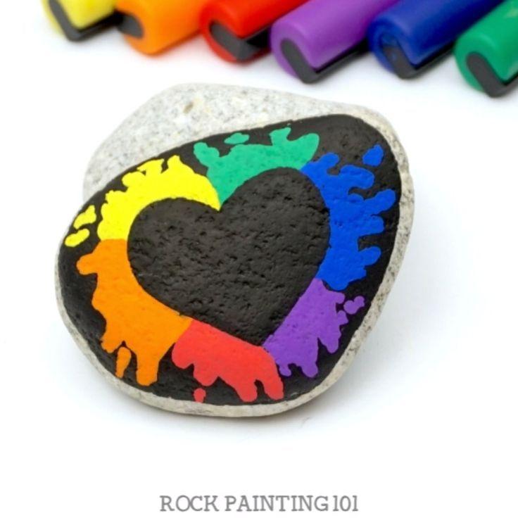 Photo of Rainbow Rock Painting Ideas – #forbeginners #ideas #Painting #Rainbow #Rock