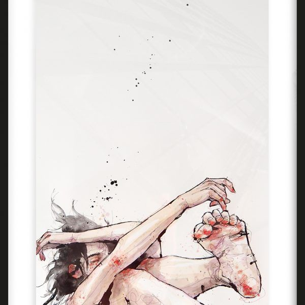 FALLING Nr. 2 | art | Pinterest | Sketchbooks, Drawing board and ...