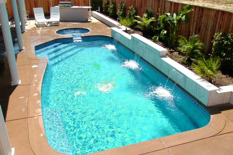 DIY Inground Fiberglass Pool Kits DIY inground pool Pinterest