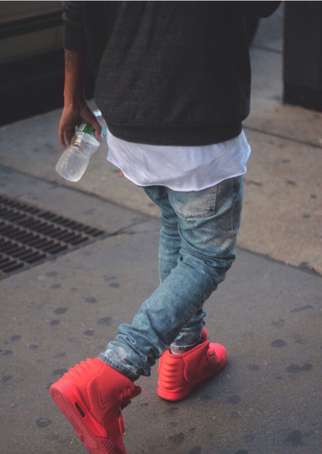 Red Yeezy's