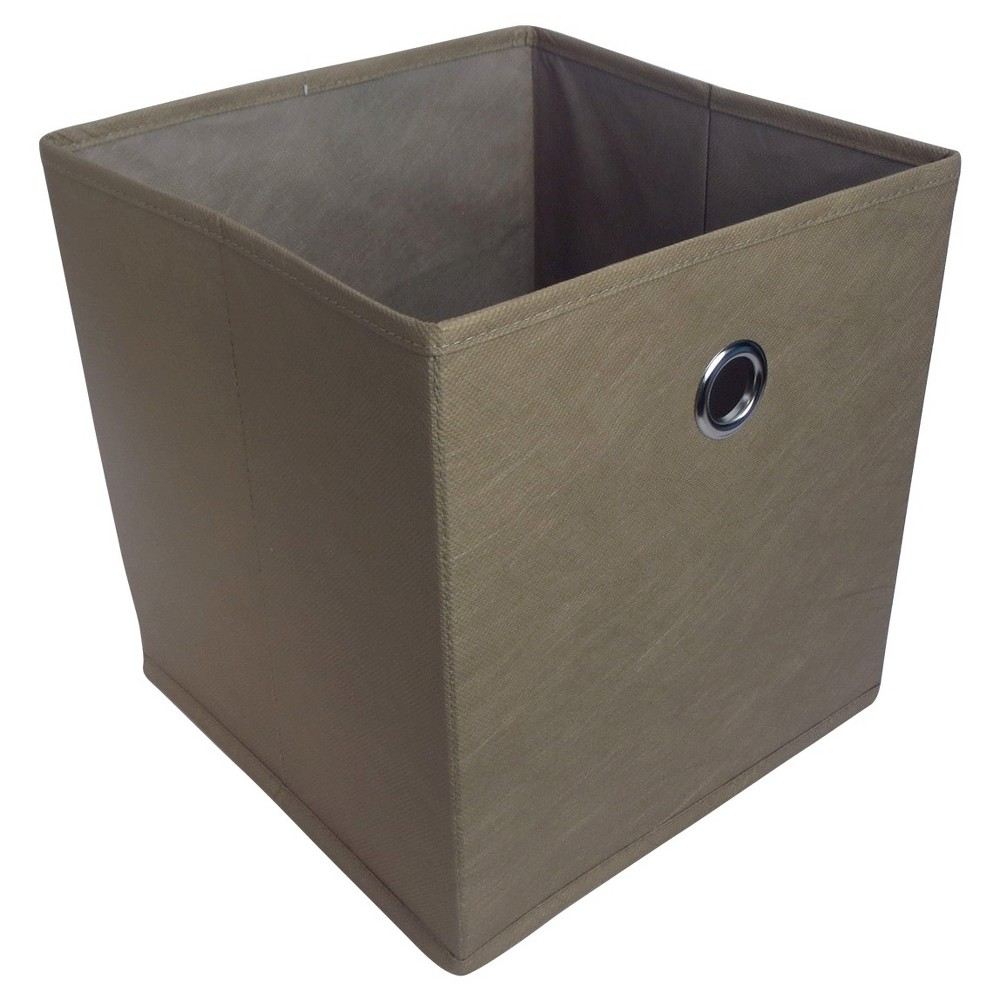 Fabric Cube Storage Bin 11 - Room Essentials Brown  sc 1 st  Pinterest & Fabric Cube Storage Bin 11 - Room Essentials Brown | Products